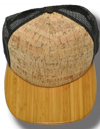 Bamboo brim with Cork Cap